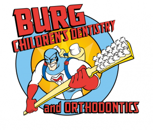 Burg Children's Dentistry and Orthodontics logo in Utah